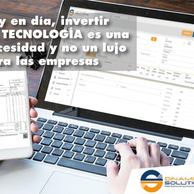 Hoy en día, invertir  en tecnología es una  necesidad y no un lujo  para las empresas