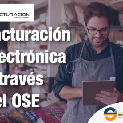 Facturación electrónica a través del OSE